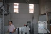 Vnitřní zateplení systémem redstone CLIMA PLUS vrámci rekonstrukce výrobní haly, interiér