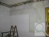 Stěna, vnitřní zateplení systémem redstone CLIMA PLUS, průběh prací (1)